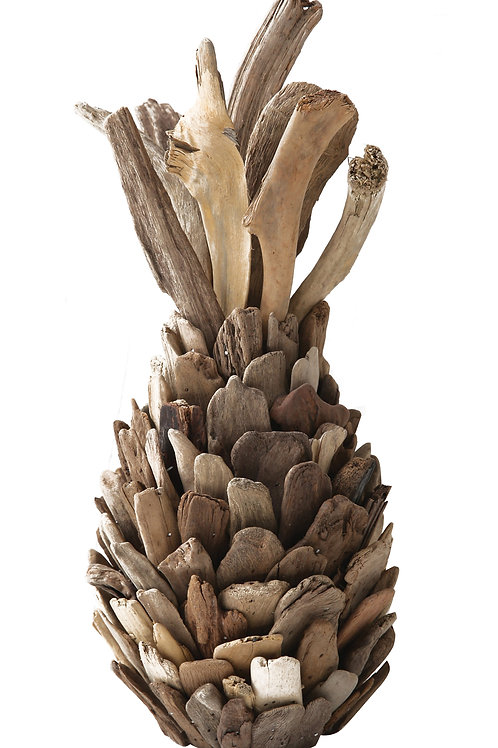 Decorative Driftwood Pineapple