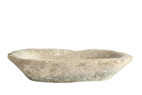 Found Decorative Marble Dish (Each one will vary)