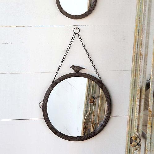 Hanging Bird Mirror, Large