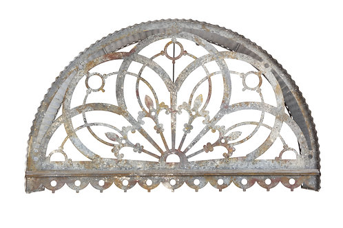 Large Decorative Metal Cutout Canopy Wall Decor