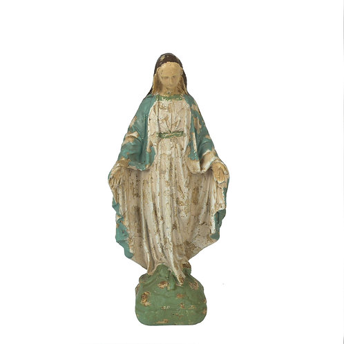 Resin Reproduction of Vintage Mary Statue