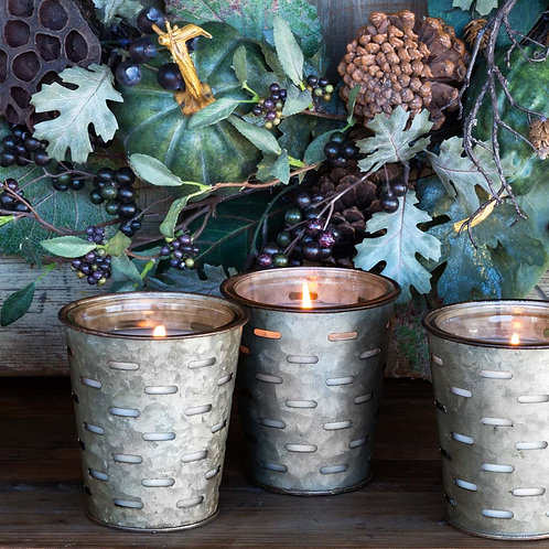 Citrus, Celery & Sage, Olive Bucket Candle