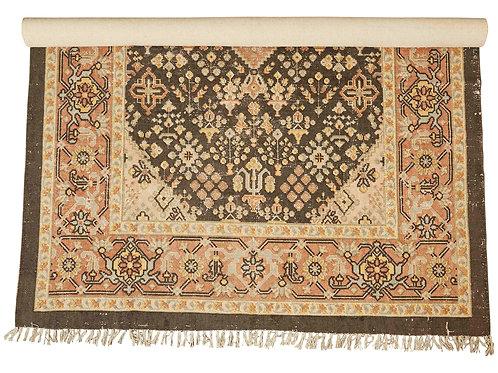5' x 8' Woven Cotton Printed Rug