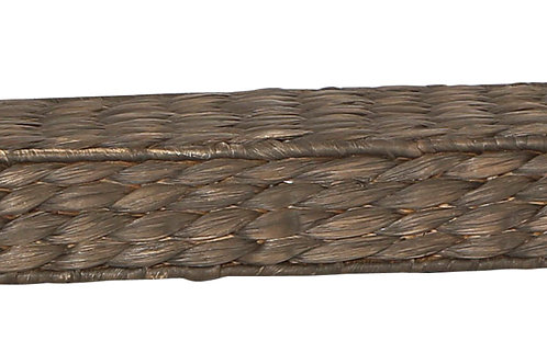 "29.5"" Handwoven Water Hyacinth Wall Shelf"