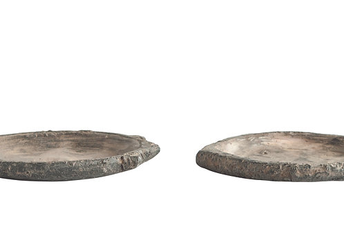 Found Decorative Soapstone Plate (Each one will vary)