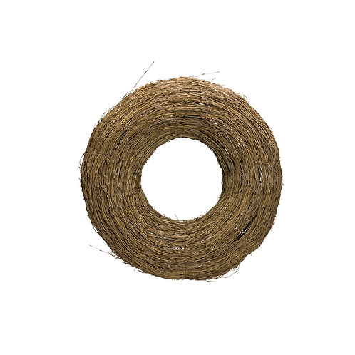 Natural Bamboo Branch Wreath