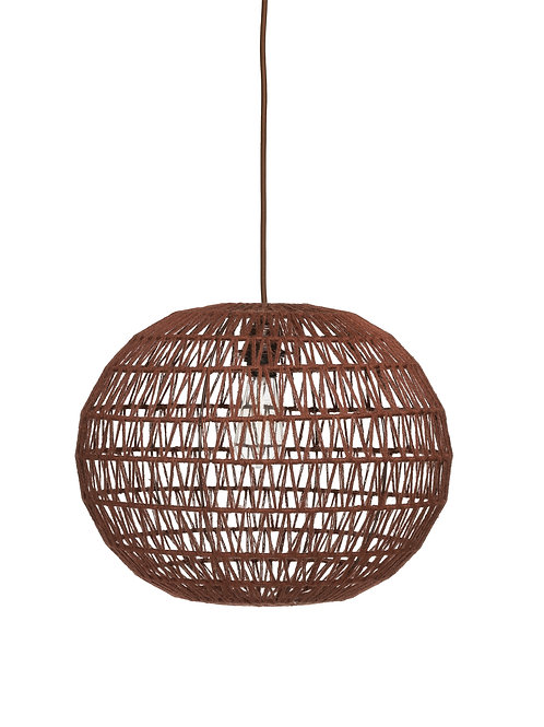 Sienna Woven Hemp Rope Pendant Light