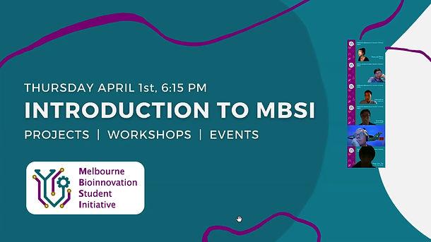 Intro to MBSI
