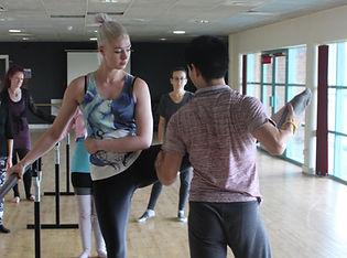 adult ballet cardiff beginner dance class