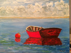 Red Rowboat