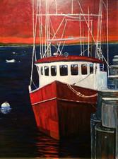 Provincetown Fishing Trawler
