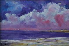 Playful Sunset Sail