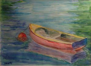 Frog Pond Rowboat