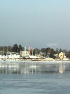 Newburyport Merrimas In Snow
