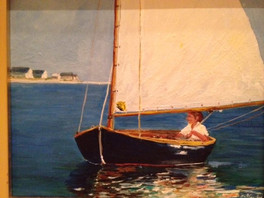 Catboat sailor