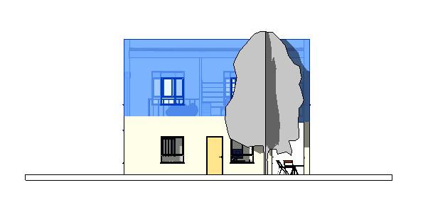 בחירת קומה במודל תלת מימד רוויט