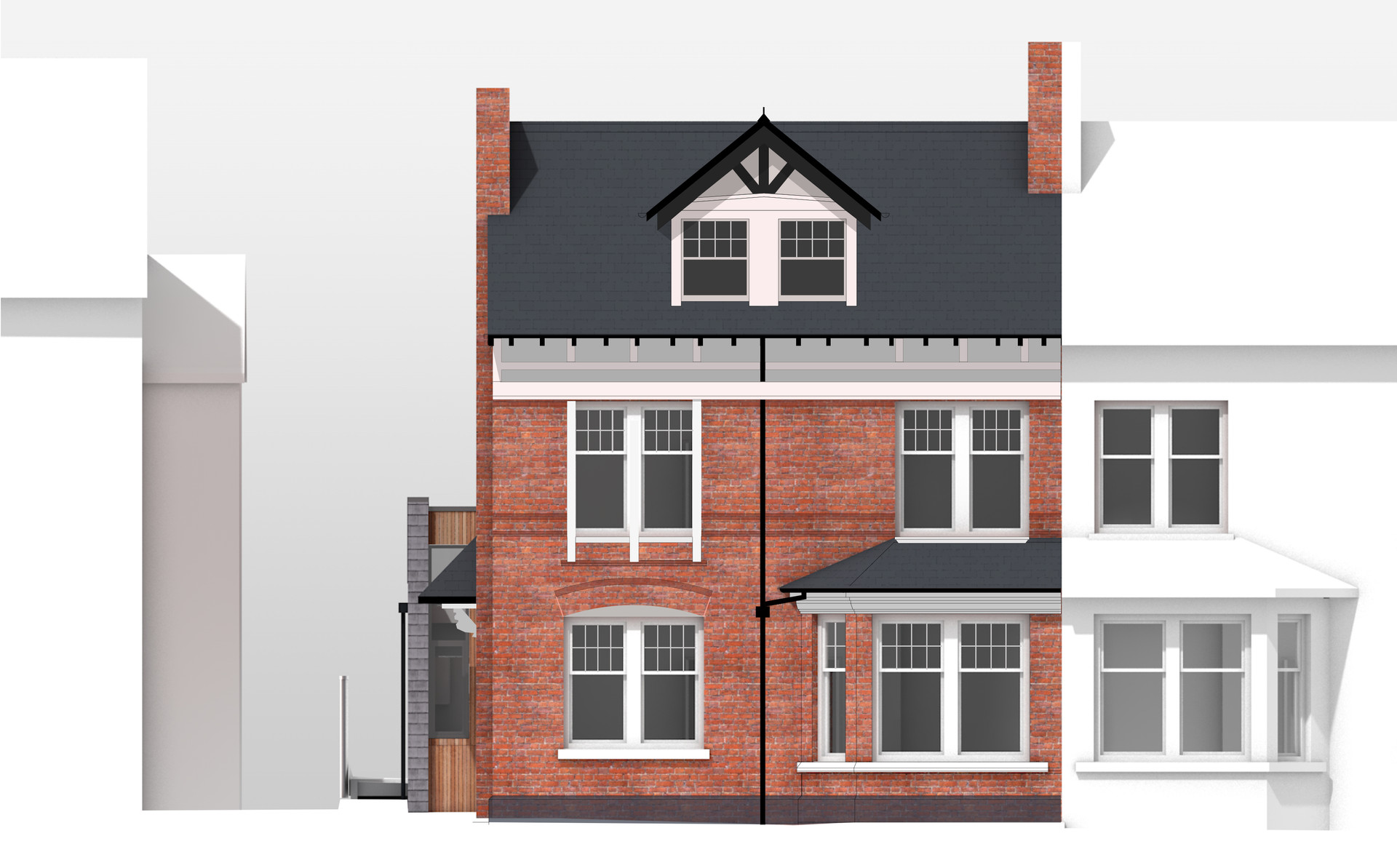 BLEN-L008-PROPOSED FRONT ELEVATION (AJ).