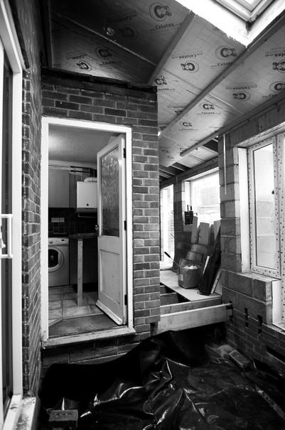 SITE PROGRESS: Kingsbury House Extension