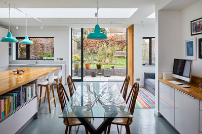FLEMING JAMES ARCHITECTS COMPLETES  PRIVATE HOUSE EXTENSION IN BIRMINGHAM