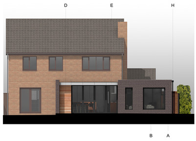 CONTEMPORARY EXTENSION GRANTED PLANNING PERMISSION