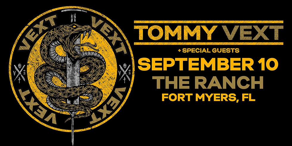 Tommy Vext at The Ranch Concert Hall & Saloon