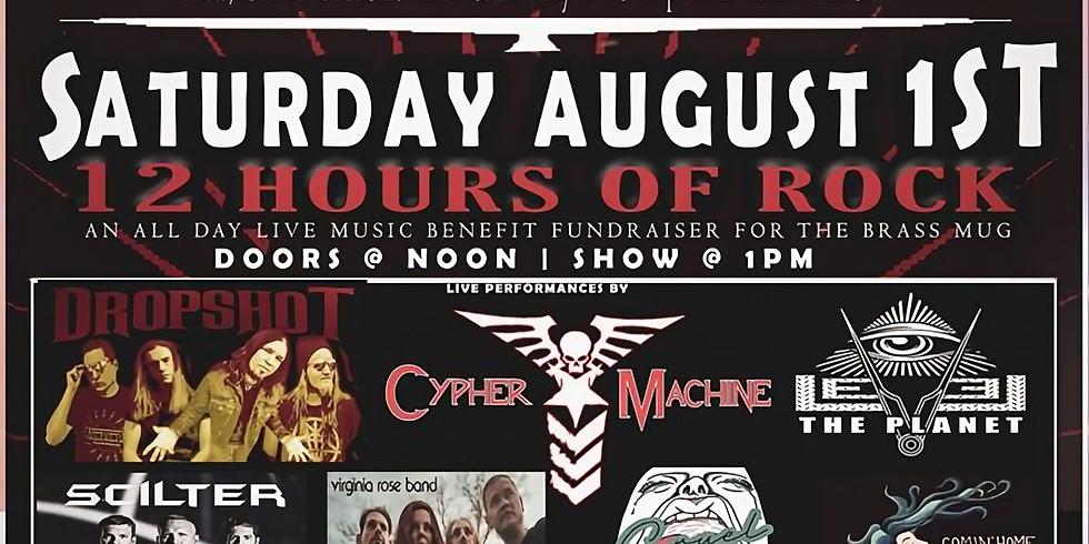CANCELLED due to COVID-19 (12 Hours of Rock)