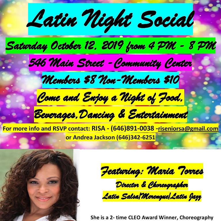 International Latin Dance Social