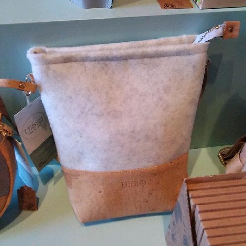 Ulsto kleine Handtasche eckig hell