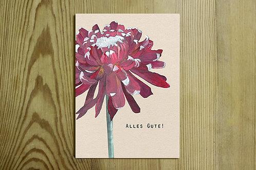 Postkarte Nr. 0010 - Alles Gute!