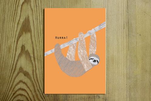 Postkarte Nr. 0028 - Hurra!