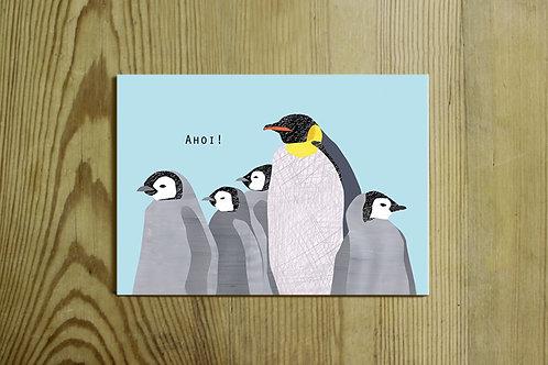 Postkarte Nr. 0043 - Ahoi!