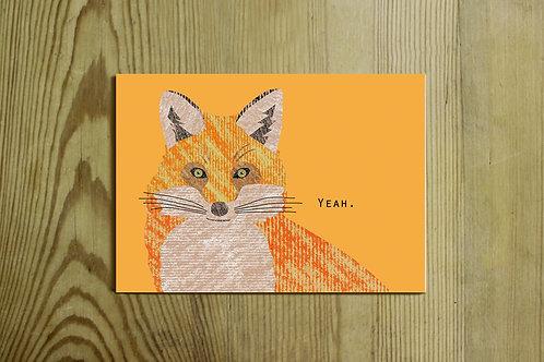 Postkarte Nr. 0073 - Yeah.