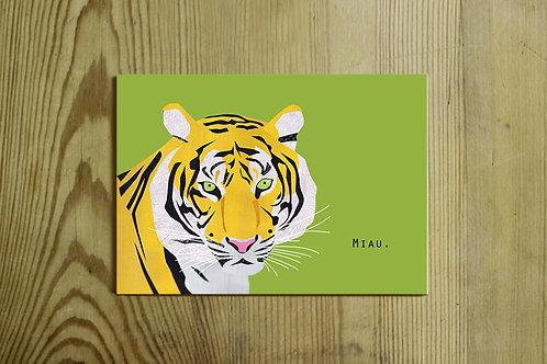Postkarte Nr. 0040 - Miau.