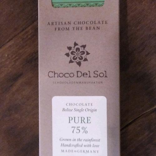 Choco Del Sol - Pure 75%