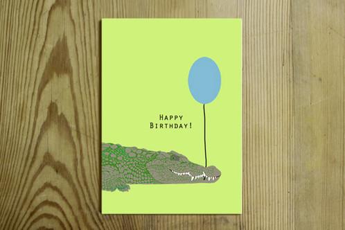 postkarte nr 0028 happy birthday. Black Bedroom Furniture Sets. Home Design Ideas