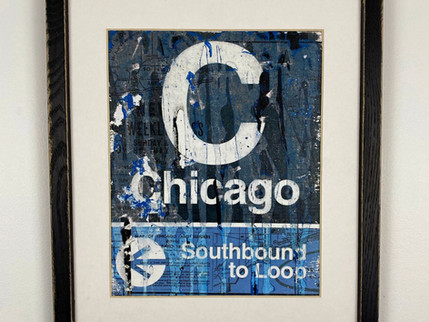 Chicago CTA Drip Sign