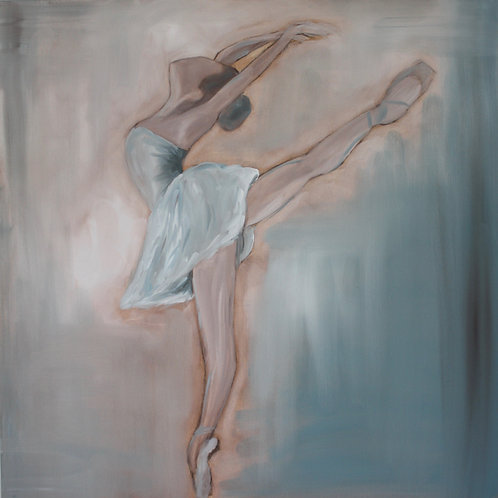 Graceful - 36x36 - Oil On Canvas