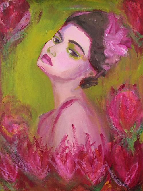 Carmen - 20x16 - Acrylic on Canvas