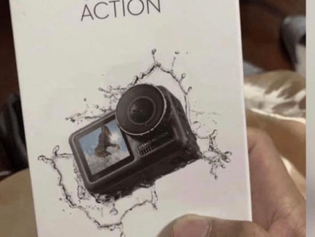 DJI TO RELEASE OSMO ACTION CAMERA