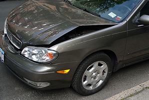 Crashed Car