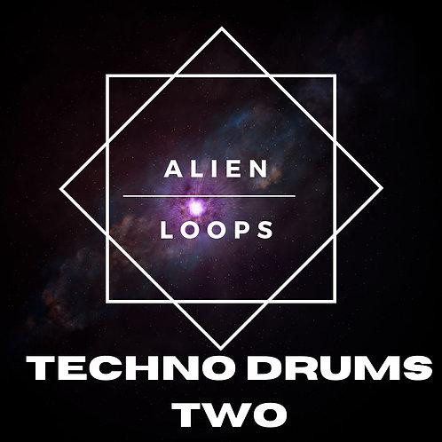Alien Loops - Techno Drums Vol 2