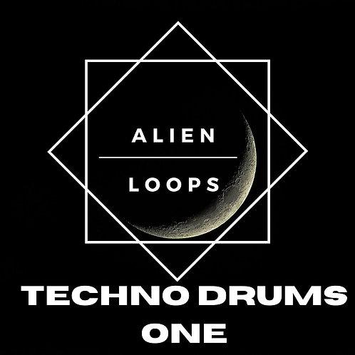 Alien Loops - Techno Drums Vol 1
