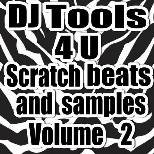 Dj Tools 4 U - Scratch Beats and Samples Vol 2
