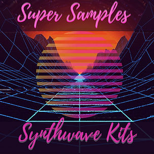 Synthwave synth wave sample pack