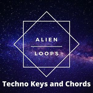 Techno keys chords rifts sample pack