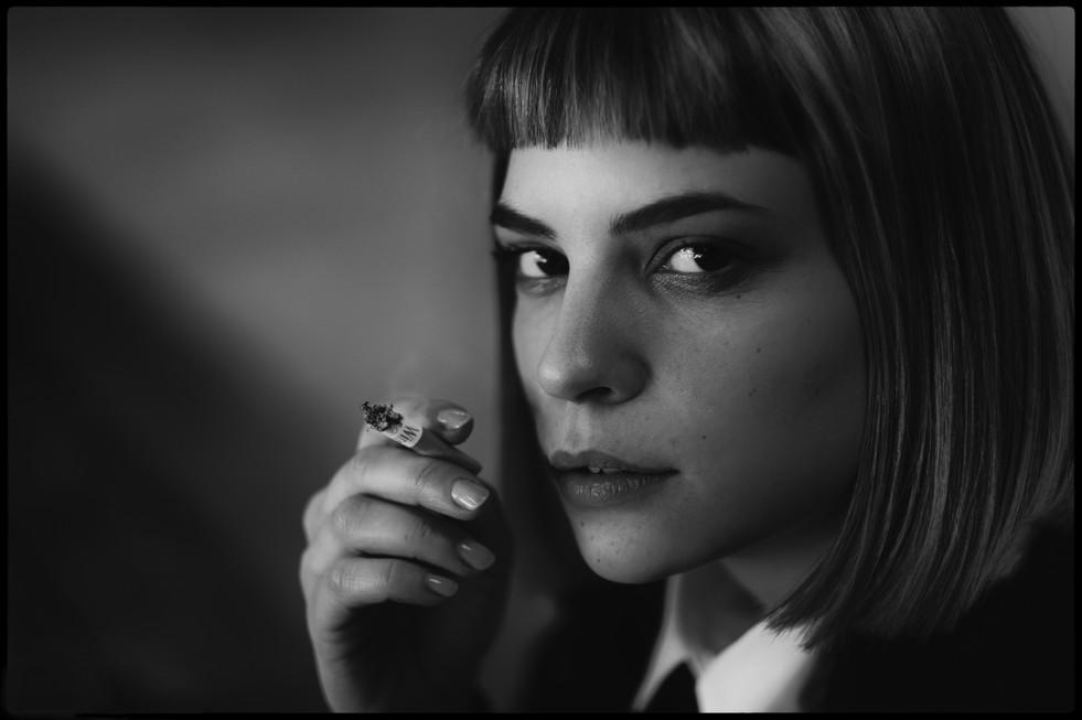 """Among the waitresses, single out LETIZIA.""Gaia Bavaro."
