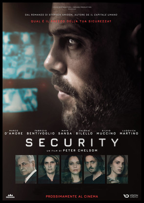 SECURITY poster. Photo by Peter Chelsom.