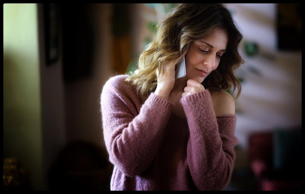 """""""Elena is shy, treading carefully."""" (Valeria Bilello)."""