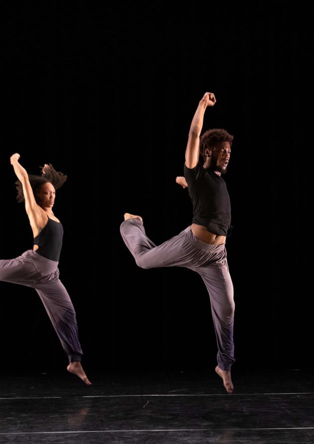Naila Brown and Craig Kirby performing a