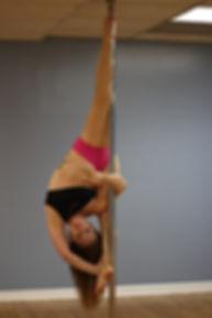 Pole Dance Trick